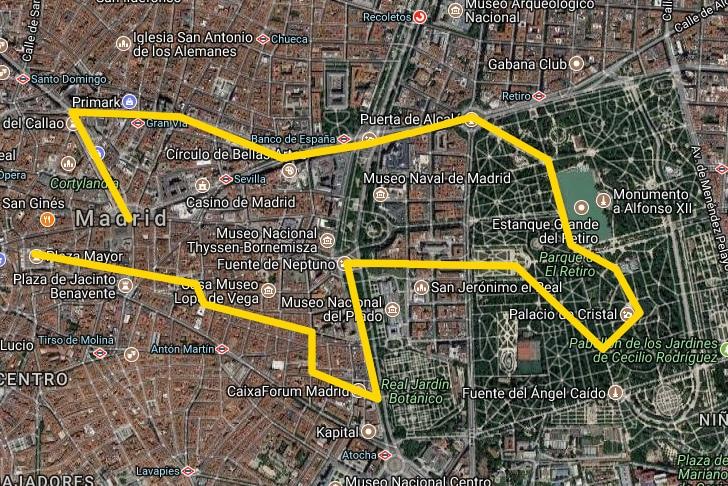 visit Madrid 1 day