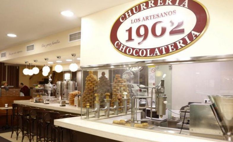 manger des churros madrid