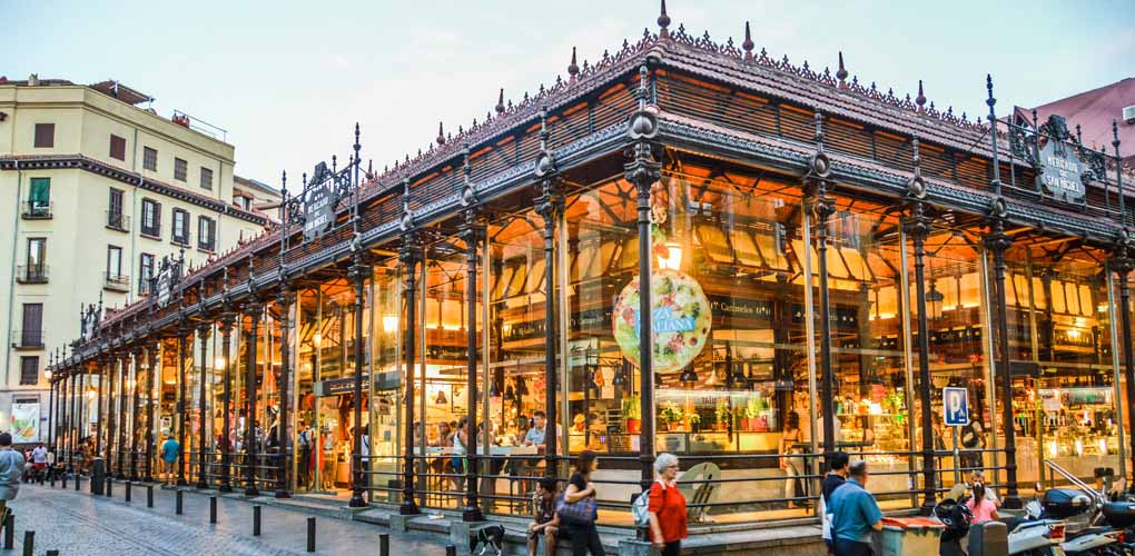 The best food markets in Madrid