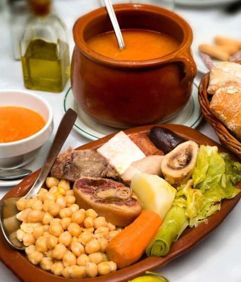 plats traditionnels madrid