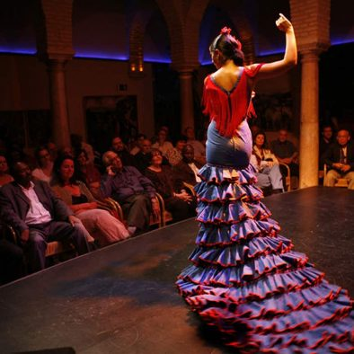 spectacle flamenco seville