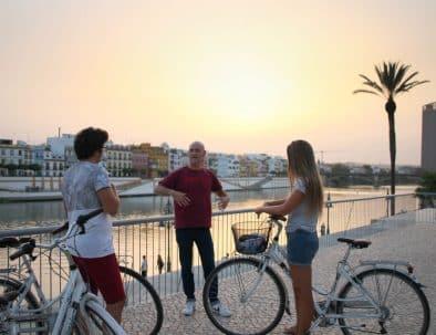 visite à vélo en français seville