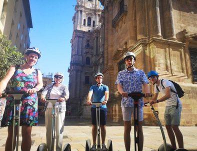 visite guidee en segway malaga français