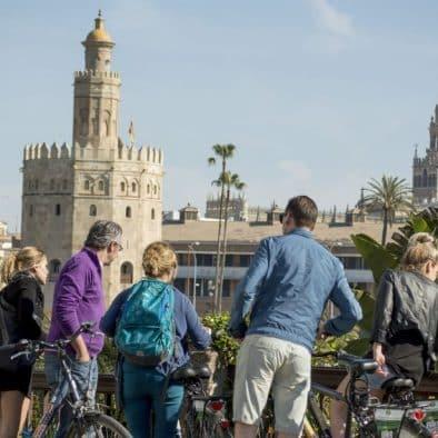 visite vélo seville français