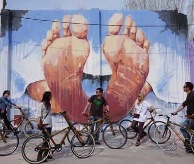 barcelone visite art urbain