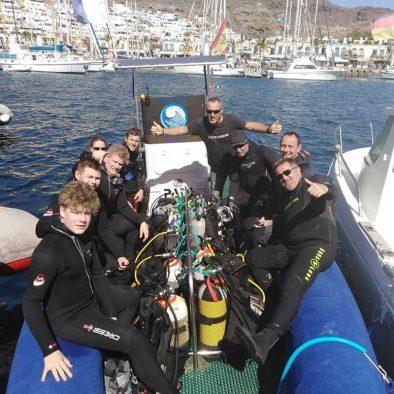 expérience de plongée sous-marine à gran canaria