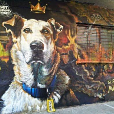 visite art urbain athènes