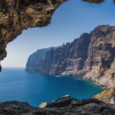 observation de balaines falaise Les Géants tenerife